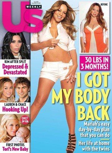 Mariah Carey hace ¡chas! y embarazo olvidado...
