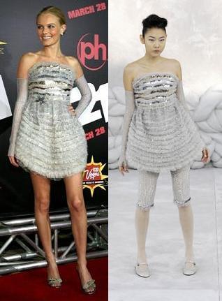 Kate Bosworth de Chanel, ¡al menos no llevaba los leggins!