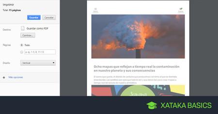 Cómo capturar una página web completa en Chrome y Firefox