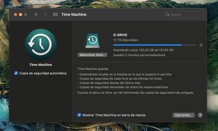Macchina del tempo SanDisk G-Drive