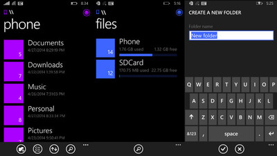 Joe Belfiore confirma un explorador de archivos oficial para Windows Phone 8.1