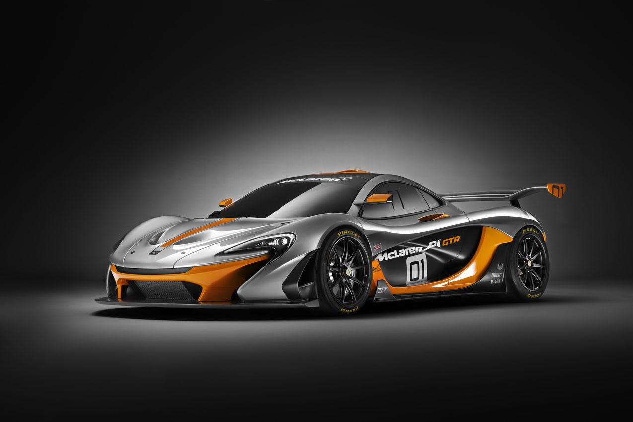 Foto de McLaren P1 GTR Design Concept (1/7)