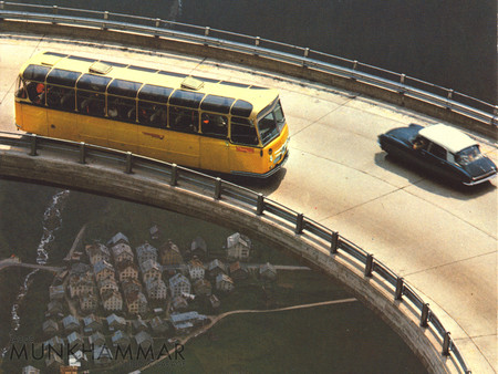 Flying Citroen Ds And Bus By Jacobmunkhammar D5vnhpy