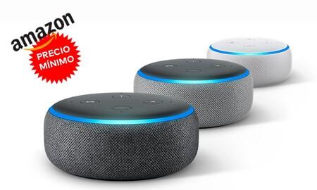 Amazon contraataca al Google Nest poniendo el Echo Dot de 3º generación a precio de Prime Day: lo tienes por sólo 19,99 euros