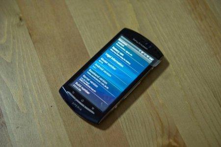 Sony Ericsson Xperia Neo desde todos los ángulos