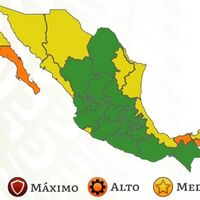 Casi dos tercios de México alcanzan el semáforo verde por COVID, pero tres vuelven al semáforo naranja