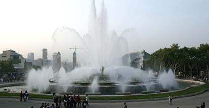 Se alquila la Fuente Mágica de Barcelona