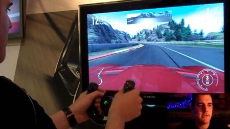 'Forza 4' funcionando con volante inalámbrico. No pinta mal, ¿no?