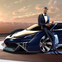 Audi RSQ E-Tron, el primer concept car ficticio diseñado para una película animada.