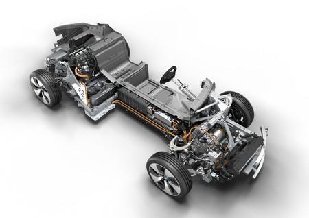 BMW i8 2013, motorización híbrida