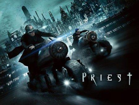The priest, el sicario de Dios va motorizado