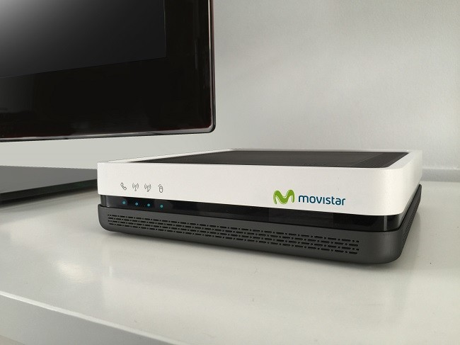 650 1200router Movistar Con Ont