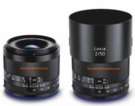 Aparecen imágenes de los primeros objetivos Loxia de Zeiss: un 50 mm f/2.0 y un 35 mm f/2.0