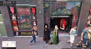 Google Street View se llena de arte, gracias al trabajo de este ilustrador lleno de imaginación