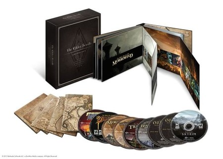 Bethesda anuncia 'The Elder Scrolls Anthology' para PC [QuakeCon 2013]