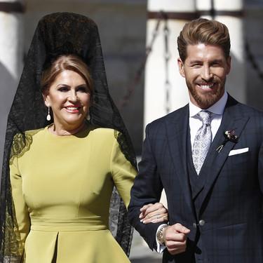 Paqui García, la madre de Sergio Ramos, nos enseña cómo es el perfecto look de madrina