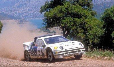 20 años del Ford RS200, último Grupo B