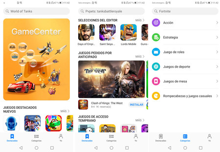Huawei Game Center Apps