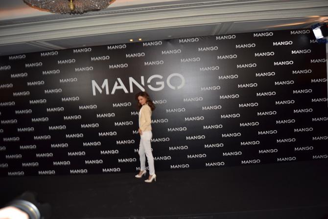 Foto de Miranda Kerr para Mango, rueda de prensa (16/16)
