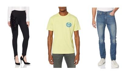 Chollos en tallas sueltas de pantalones, camisetas y leggins Desigual, Levi's, Lee o Pepe Jeans en Amazon