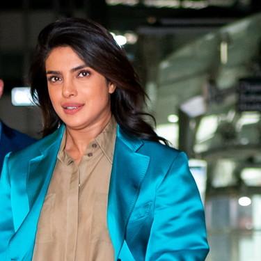 Amarillo, turquesa y beige: Priyanka Chopra no le teme a nada, y así lo demuestra