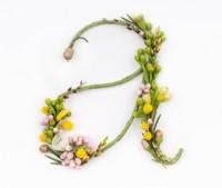 Abecedario floral de Alice Mourou, la tipografía de la primavera