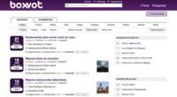 Boxvot, busca y recomienda lugares de ocio mediante rankings