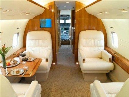 Jet privado Bombardier Challenger 604