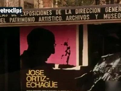 José Ortiz Echagüe exponiendo a los 95 años, así eran las exposiciones en 1980