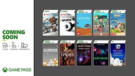 Hades y Curse of the Dead Gods entre los juegos que llegarán a Xbox Game Pass durante la primera quincena de agosto