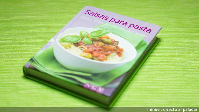 libro de salsas para pasta - portada