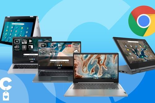 Trabajar en la nube con Chrome OS sale más barato con estas ofertas en portátiles y convertibles Chromebook de Amazon