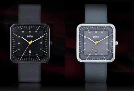 Braun no sólo hace electrodomésticos, también tiene relojes