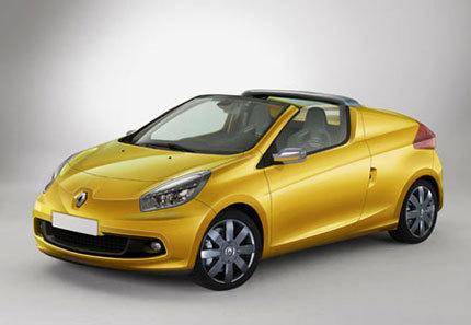 Renault Twingo Coupé Cabrio Concept para el salón de Frankfurt