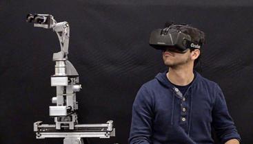 Oculus Rift y una cabeza robótica para recrear la experiencia de estar en otro lugar
