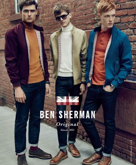 Ben Sherman rinde tributo al british style para el otoño