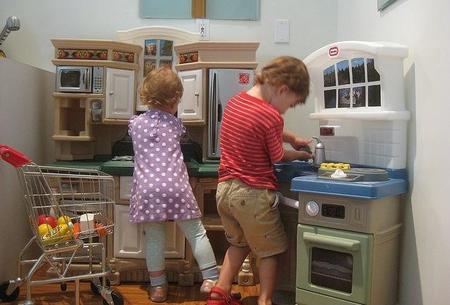 Cocinitas para niñas, cocinitas para niños