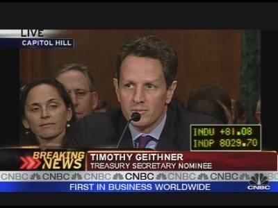Tim Geithner protagoniza gran escándalo financiero