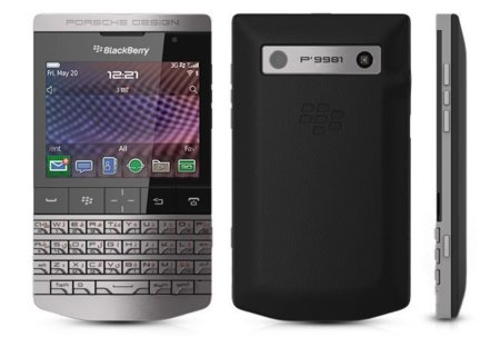 BlackBerry Porsche P'9981, la Blackberry de puro lujo