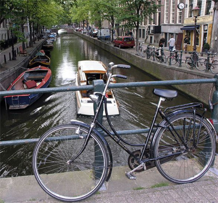 Para ir en bicicleta por Ámsterdam