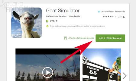 Google Play ya permite a los desarrolladores regalar sus aplicaciones de pago