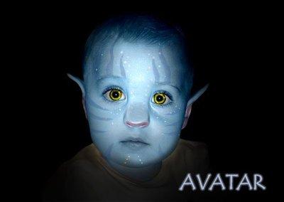 Cómo hacer de tu bebé un Na'vi de Avatar con Photoshop (II)