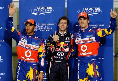 Pole de Sebastian Vettel en Abu Dhabi. Y van 14