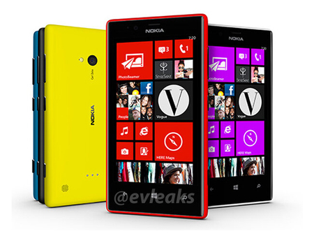 Nokia Lumia 520 y 720 se filtran en imágenes antes de su presentación