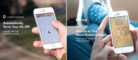 Tado smart Phone funciones