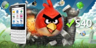 Portan Angry Birds de manera no oficial para dispositivos con S40