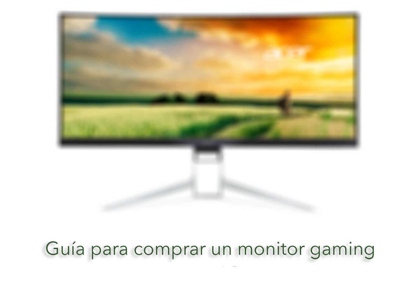 399313a88bff7 ¿Pensando en comprar un monitor gaming  Estas son algunas de las  características que conviene tener en cuenta