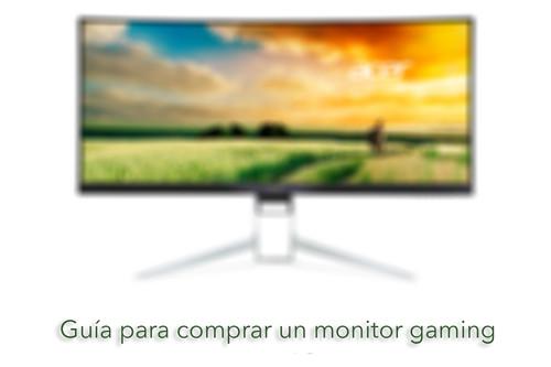 ¿Pensando en comprar un monitor gaming? Estas son algunas de las características que conviene tener en cuenta