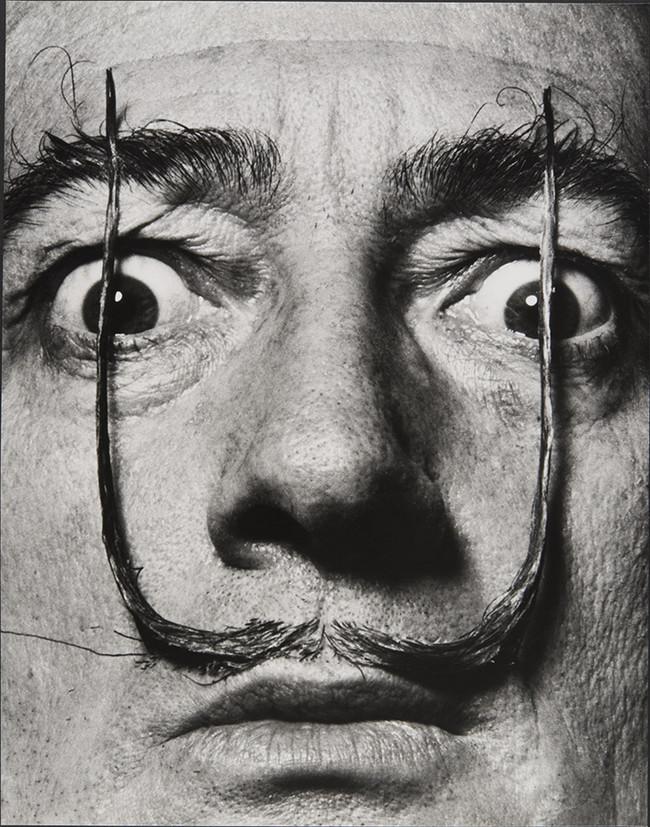 Philippe Halsman Como Dos Centinelas Erguidos Mi Bigote Custodia La Entrada A Mi Verdadero Yo Dali S Mustache 1954 Ph