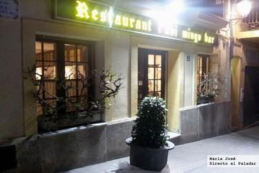 Restaurante l´Avi Mingo, comida tradicional en un ambiente familiar